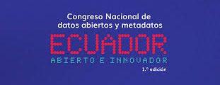 Participación en eventos de Datos Abiertos en Ecuador