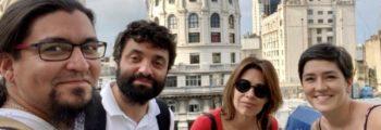 El equipo viaja a una sesión de estrategia de ILDA en Buenos Aires