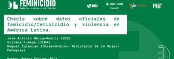 Datos contra el Feminicidio: Charla sobre datos oficiales