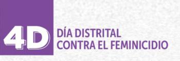 Participación en la conmemoración del Día Distrital contra el Feminicidio en Bogotá, Colombia