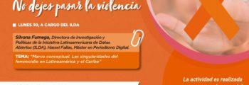 Taller: Las singularidades del feminicidio en América Latina y el Caribe (Paraguay)